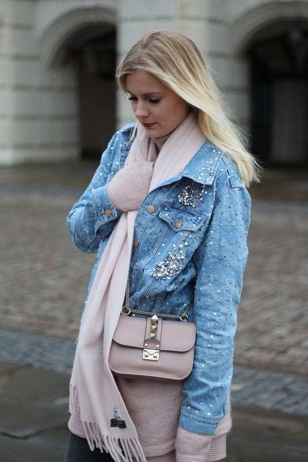 Zara jeansjacke rosen